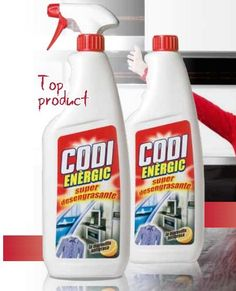 Codi energic (403912)+ sprayová pumpička (413015) Spray Bottle, Cleaning Supplies, Cleaning Agent, Airstone