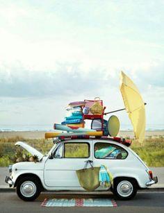 Summer in a Fiat 600