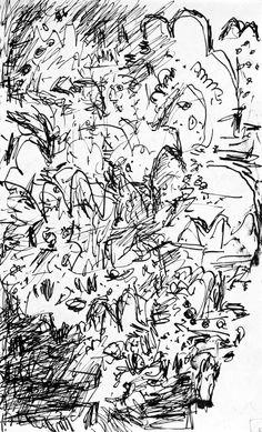 D1977/1979-83 ~ Mark Kielkucki apx 5 x 7 inches Ink on paper  More work here: http://www.kielkucki.com Mark Kielkucki's photo.