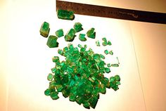 Look at the size of these emeralds