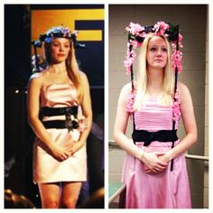 So this happened today. Regina George at Spring Fling costume!  #meangirls #halloween #reginageorge #costume #youcantsitwithus #booyouwhore
