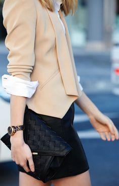 Trenery Blush Women's Pointed Hem Tailored Blazer