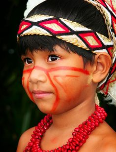 """Little Goty is a member of the Pataxó nation. He lives in the Coroa Vermelha indigenous reservation, in the southern part of the state of Bahia, Brazil. The area is known as """"Discovery Coast""""; that is where the Portuguese explorers first arrived in 1500."""