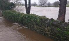 River Ribble overflows as flood warnings issued for Lancashire – video Flood Warning, Yorkshire, Joseph, December, Environment, Rain, River, Twitter, Rain Fall