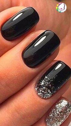 Dreamy nail art design ideas for winter - Маникюр - Black Nail Designs, Colorful Nail Designs, Acrylic Nail Designs, Nail Art Designs, Nails Design, Tattoo Designs, Stylish Nails, Trendy Nails, Cute Nails