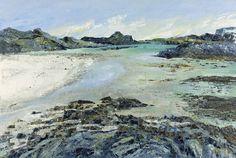 Frances Macdonald,  Knockvologan near Fionnphort, Mull.  Passing Islands - The Scottish Gallery, Edinburgh - Contemporary Art Since 1842