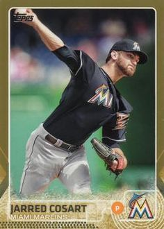 2015 Topps - Gold #430 Jarred Cosart Front