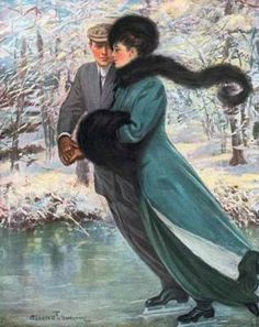 Winter's Date  by Clarence F. Underwood