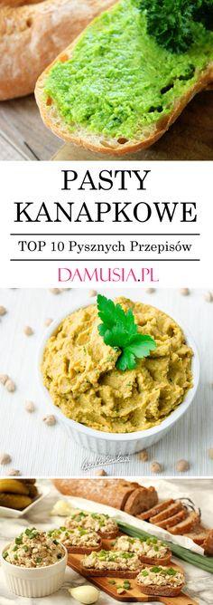 Pasty Kanapkowe – TOP 10 Pysznych Przepisów Polish Food, Polish Recipes, Impreza, Catering, Lunch Box, Pasta, Ethnic Recipes, Kids, Cooking