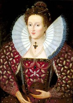 Queen Elizabeth I (7 September 1533 – 24 March 1603) - Queen of England and Ireland from 17 November 1558 until her death