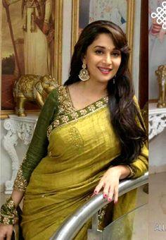 Buy Online Beautiful Madhuri Dixit replica Sarees at their best price.