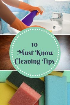 Top 10 Must Know Cleaning Tips, I love tip #4- A Spark of Creativity