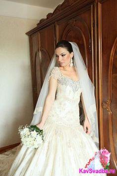 Гармоничное сочетание образа невесты с домашней обстановкой