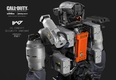 Concept artist Aaron Beck has posted some of the concept designs he created for Call of Duty: Infinite Warfare, developed by Infinity Ward. Concept Art World, Robot Concept Art, Science Fiction, Military Robot, Hd Space, Call Of Duty Infinite, Graffiti Pictures, Surface Modeling, Future Soldier