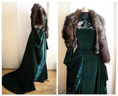 Sansa Stark Season 6 Gown The costume is made to order. I will begin with the making right after I received payment. Since every single piece is made by my own hands, please allow enough time for the