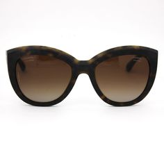 afeb02bb35711 CHANEL Butterfly Sunglasses Dark Tortoise Frame With Brown Polarized Lenses  5332