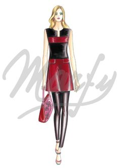 Our Patterns :: Marfy Collection 2016/2017 :: Sewing pattern 3877 -