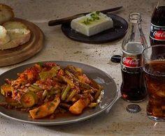 Φασολάκια λαδερά κοκκινιστά Veggie Dishes, Veggie Recipes, Food Categories, Mediterranean Recipes, Greek Recipes, Kung Pao Chicken, Chicken Wings, Grilling, Salads