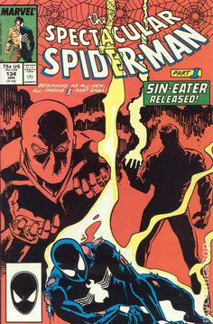 Spectacular Spider-Man (1976 1st Series) 134 Marvel Comics Peter Parker Comic book covers Super Heroes Villians Amazing Astonishing silver bronze modern age
