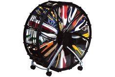 360回転型! 省スペースホイール型の靴収納 | roomie(ルーミー)