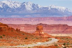 ~ Highway 95 Winds Through Southern Utah Westbound on Its Way to Lake Powell ~ Traveled this oodles of times....Great travel and vistas....