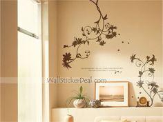 Sweet Nothing Flowers Wall Sticker