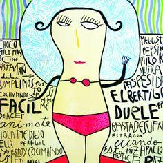 Milo Lockett, el mejor. Face Expressions, Arte Popular, Various Artists, Paint Designs, Artist Art, Pop Art, Print Patterns, Aurora Sleeping Beauty, Illustration Art