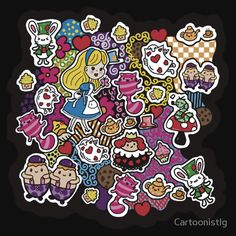 Alice In Wonderland Gifts, Tshirts and Decor