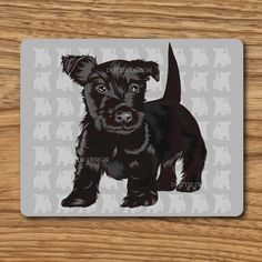mouse mat terrier desktop laptop mouse pad high quality 5 MM thick made in UK