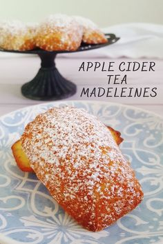 Apple Cider Tea Madeleines Recipe Journal, Food Journal, Best Apple Recipes, Fall Recipes, Cake Mix Cookies, Cookies Et Biscuits, Mulled Cider Spices, Cookie Recipes, Dessert Recipes