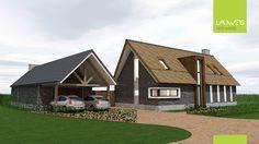 Landelijk modern woonhuis met bijbehorend bouwwerk te Reusel