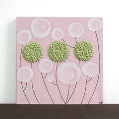 Spring Dahlias Painting