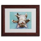 """Found it at Wayfair - """"Little Napper"""" by Pat Saunders-White Matted Framed Painting Print"""
