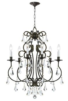 Buy the Crystorama Lighting Group English Bronze Direct. Shop for the Crystorama Lighting Group English Bronze Ashton 6 Light Wide Chandelier with Clear Hand Cut Crystals and save. Bronze Chandelier, Mini Chandelier, Chandelier Lighting, Crystal Chandeliers, Swarovski, Light In, Incandescent Bulbs, Decoration, Chandeliers