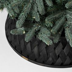 Change up your holiday style with the Tree Collar from Hearth & Hand™ with Magnolia. This wooden tree collar fits around your Christmas tree stand to. Tree Collar Christmas, Farmhouse Christmas Ornaments, Black Christmas Trees, Christmas Ornament Sets, Christmas Tree Decorations, Xmas, Nordic Christmas, Crochet Christmas, Christmas Angels