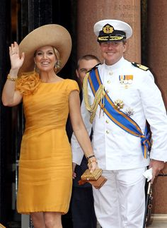 Willem-Alexander and Maxima, then Crown Prince and Princess.  Prince Albert II's wedding in Monaco