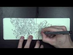 A Little Doodle in a Little Book - YouTube