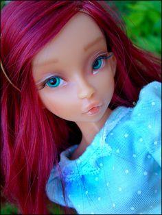 Noble Doll 1/4 (40cm) Female: Raspberry $535 w/ make-up
