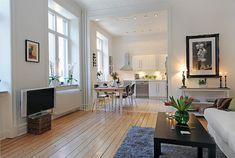 Swedish 58 Square Meter Apartment