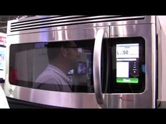 Android Microwave - Touch Revolution NIMble Kitchen Center (THIS IS CRAZY)