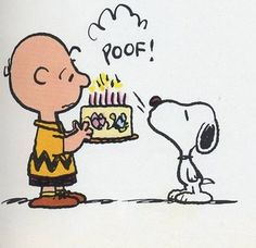 Snoopy And Charlie Brown~ Snoopy Love, Snoopy Feliz, Charlie Brown Et Snoopy, Snoopy And Woodstock, Happy Birthday Clip Art, Birthday Clips, Birthday Images, Birthday Quotes, Snoopy Birthday