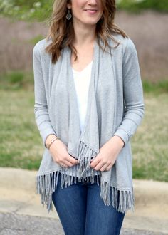 72df3e8db Stitch Fix Central Park West Bonay Fringe Cardigan. LOVE! MUST Have this  cardigan!