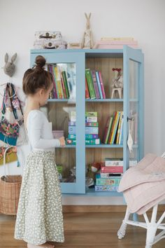 Super cute makeover for a thrifted cabinet. - DS - Super cute makeover for a thrifted cabinet. Super cute makeover for a thrifted cabinet. Girl Room, Girls Bedroom, Baby Room, Bedrooms, Shared Rooms, Boho Nursery, Kids Room Design, Kid Spaces, Decoration
