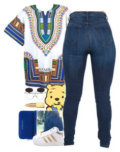 """""""A Boogie ~ Still think About you"""" by renipooh ❤ liked on Polyvore featuring MICHAEL Michael Kors, adidas and AERIN"""