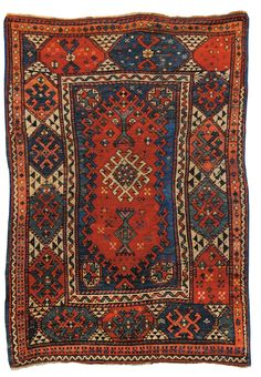 BERGAMA rug, late 19th century. Wool on wool, 175 x 116 cm. With a 'double prayer niche' design.