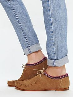 Free People moccasin flats