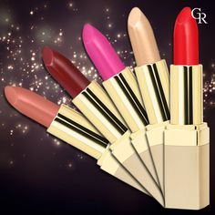 Ultra Rich Color Lipstick! Gündüz ve gece vazgeçemeyeceğin ruj serisi. http://www.goldenrosestore.com.tr/Ultra-Rich-Color-Lipstick,PR-1187.html