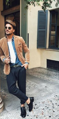 Street style looks for men #mensfashion #streetstyle