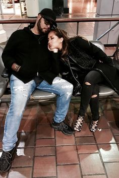 All Black Everything - Newlyweds Adrienne Bailon and Israel Houghton's Cutest Moments