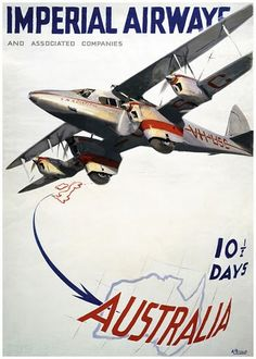 Imperial Airways - Australia
